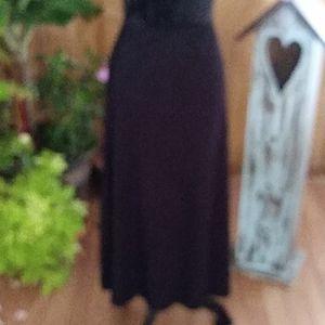 ISABELLA BIRD BLACK STRETCHY SKIRT SZ XL